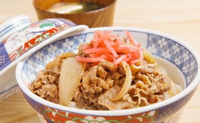 週替わりランチメニュー(牛丼)