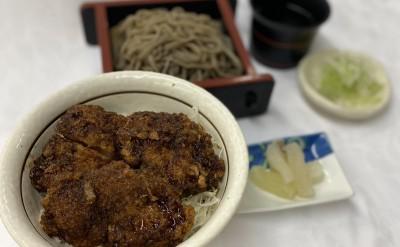 ソースカツ丼定食